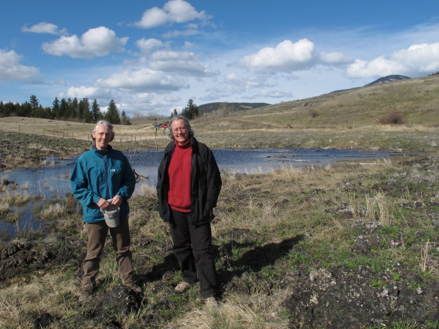 Diane and Sue at Stud's Pasture (April, 2011)