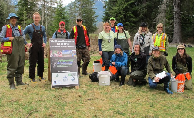 Wetlandkeepers in Squamish, BC 2011