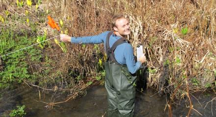 Ian Wright, Wetlandkeeper