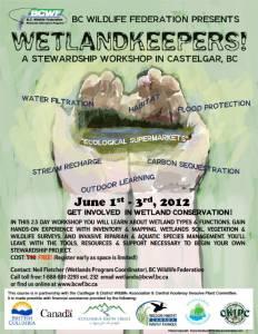 Castlegar Wetlandkeepers Poster