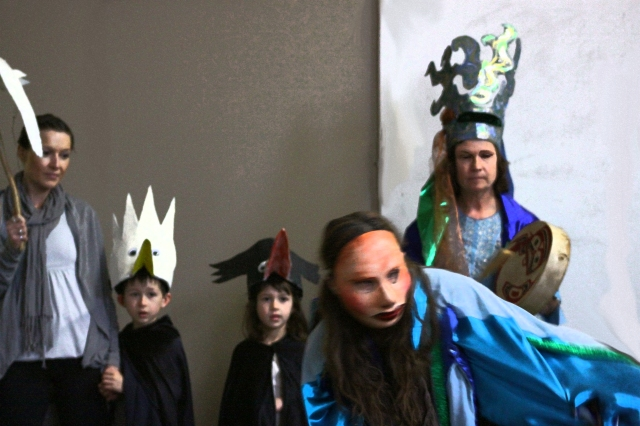 Treasure Box Puppet Theatre's performance at the Herring Celebration