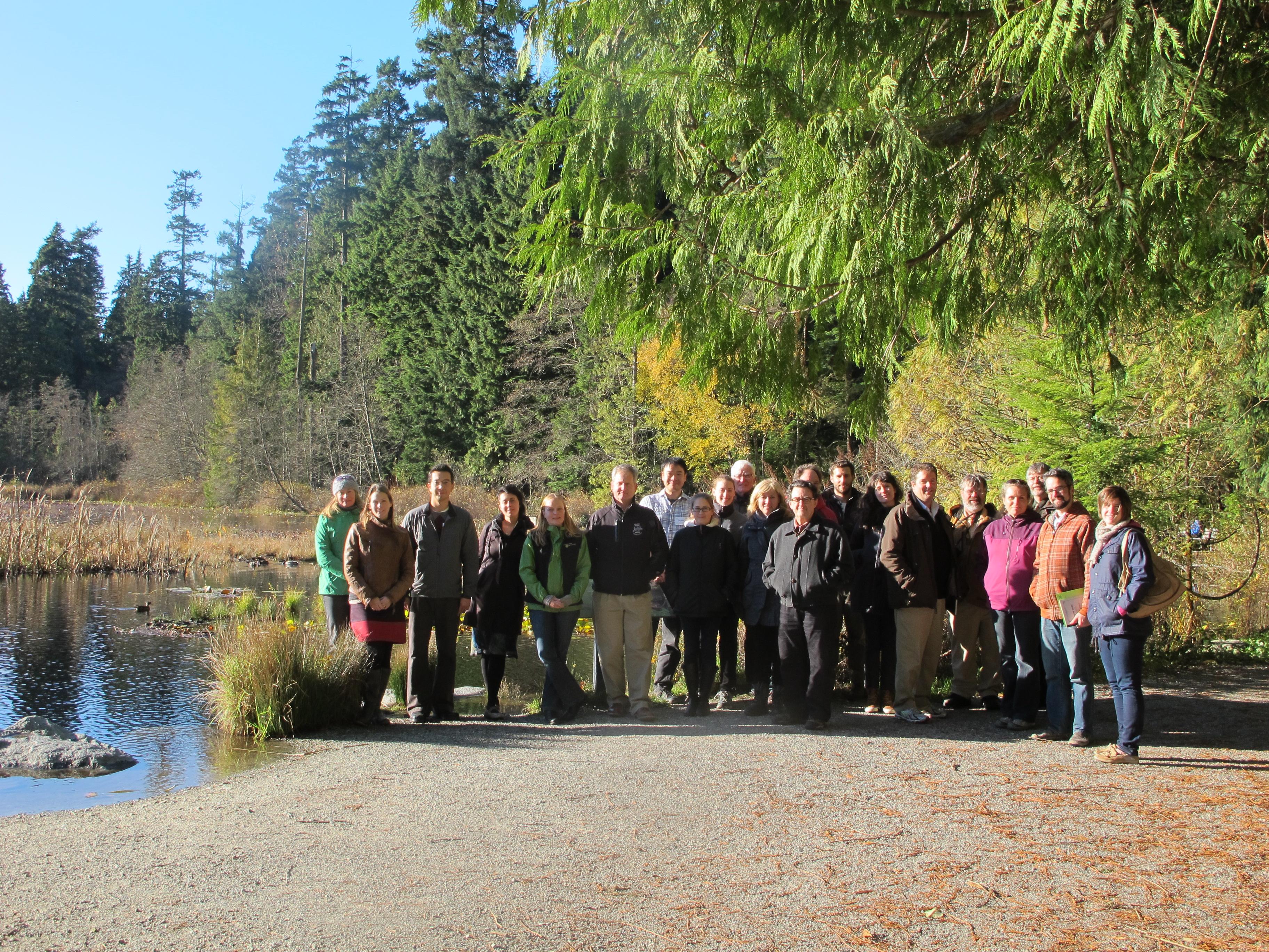 Planner's Workshop Participants at Beaver Lake