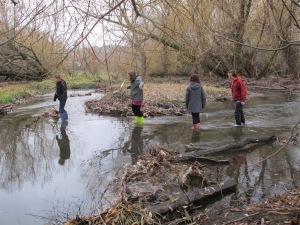 Students explore Vernon Creek