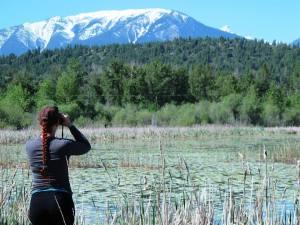 Birding at Radium Mill Pond