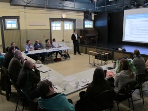 Fernie Working Group Workshop - Warn Franklin (TECK) presenting