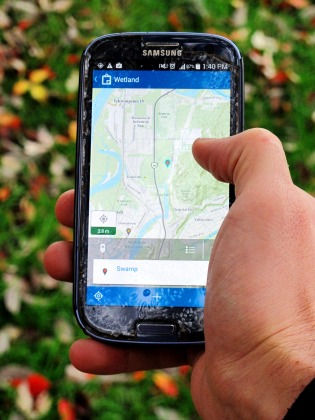 The new App allows citizen scientists to collectively map wetlands